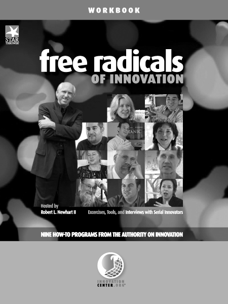 25 copies of Participant Workbook - Free Radicals of Innovation